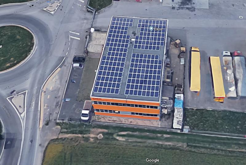 eikos pannelli solari
